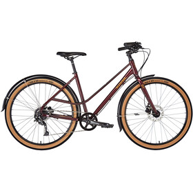 Kona Coco SE Gloss Deep Red / Metallic Gold Decals
